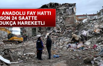 Doğu Anadolu Fay Hattı Hareketli