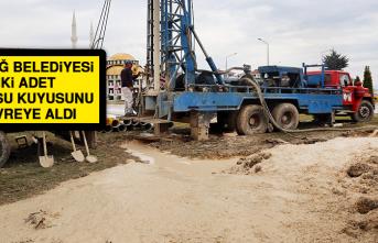 Elazığ Belediyesi İki Adet Yeni Su Kuyusunu Devreye Aldı
