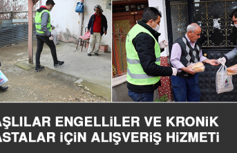 Elazığ Belediyesi'nden Yaşlılar, Engelliler ve Kronik Hastalar İçin Alışveriş Hizmeti