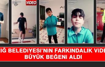 Elazığ Belediyesi'nin Farkındalık Videosu Büyük Beğeni Aldı