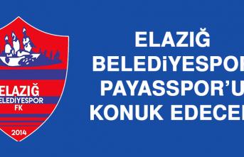 Elazığ Belediyespor, Payasspor'u Konuk Edecek