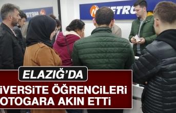 Elazığ'da Öğrenciler Otogara Akın Etti!