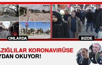 Elazığ'da Vatandaşlar Koronavirüse Meydan Okuyor