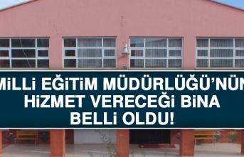 Elazığ Milli Eğitim Müdürlüğü'nün Hizmet Binasının Yeri Belli Oldu