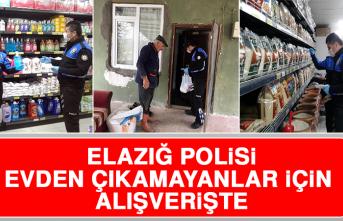 Elazığ Polisi, Evden Çıkamayanlar İçin Alışverişte