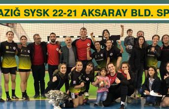 Elazığ SYSK 22-21 Aksaray bld. Spor