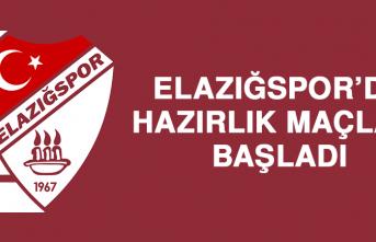 Elazığspor'da Hazırlık Maçları Başladı