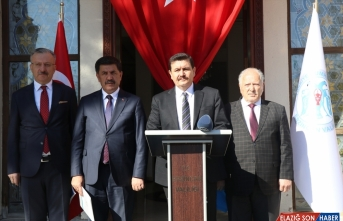 Erzincan'da Bahar Kalkanı Harekatı'na destek
