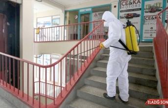 Erzurum ve Iğdır'da kapsamlı dezenfeksiyon işlemi yürütülüyor