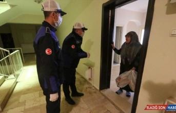 Erzurum ve Tunceli'de 65 yaş üstü vatandaşlara özel hizmet