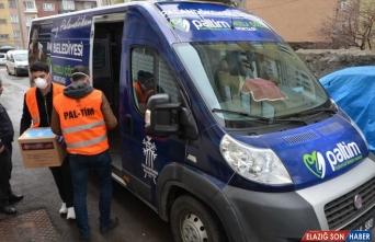 Erzurum'da PALTİM ekipleri 860 ailenin ihtiyacını giderdi