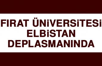 Fırat Üniversitesi Elbistan Deplasmanında