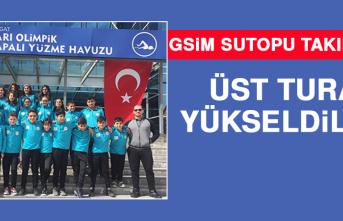 GSİM Sutopu Takımları Üst Tura Yükseldiler