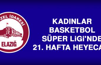 Kadınlar Basketbol Süper Ligi'nde 21. Hafta Heyecanı
