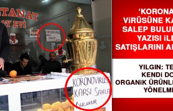 Korona Virüsüne Karşı 'Salep'