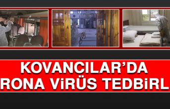 Kovancılar'da Korona Virüs Tedbirleri