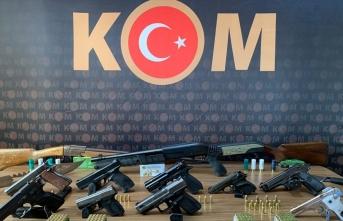 Malatya'da silah kaçakçılığı operasyonu: 14 gözaltı