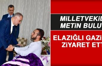 Milletvekili Bulut, İdlib Gazimizi Ziyaret Etti