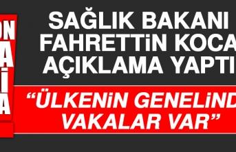 Sağlık Bakanı Fahrettin Koca Açıklama Yaptı.