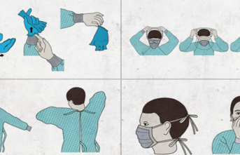 Sağlık Personeli İçin Koronavirüse Karşı Ekipman Kullanım Broşürü