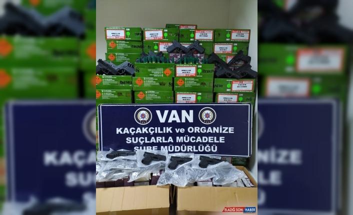 Van'da silah kaçakçılığı operasyonu