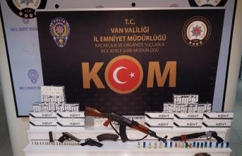 Van'da silah kaçakçılığı operasyonunda bir kişi yakalandı