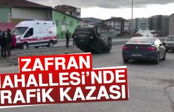 Zafran Mahallesi'nde Trafik Kazası