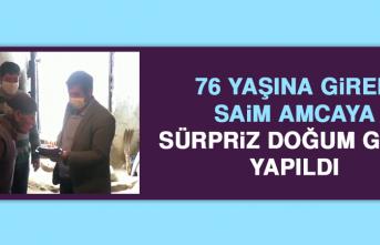 76 Yaşına Giren Saim Amcaya, Sürpriz Doğum Günü Yapıldı