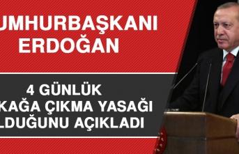 Cumhurbaşkanı Erdoğan, Açıklama Yaptı