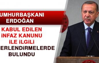 Cumhurbaşkanı Erdoğan Değerlendirmelerde Bulundu