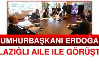 Cumhurbaşkanı Erdoğan, Video Konferans ile Elazığ'a Bağlandı