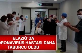 Elazığ'da Taburcu Olan Hastalar İşte Böyle Uğurlandı