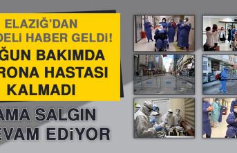 Elazığ'da Yoğun Bakımda Korona Hastası Kalmadı
