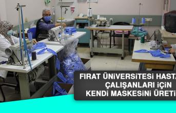 Fırat Üniversitesi Hastanesi Çalışanları İçin Kendi Maskesini Üretiyor