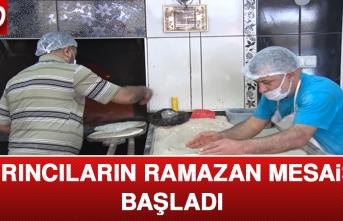 Fırıncıların Ramazan Mesaisi Başladı