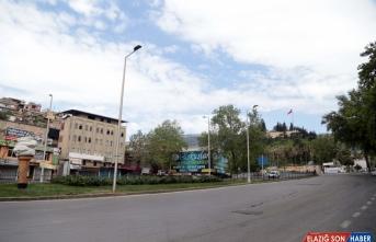 Gaziantep, Şanlıurfa, Malatya ve Kahramanmaraş'ta sokaklar boş kaldı