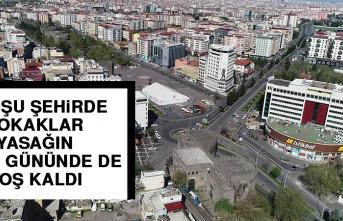 Komşu Şehirde Sokaklar Yasağın İkinci Gününde de Boş Kaldı