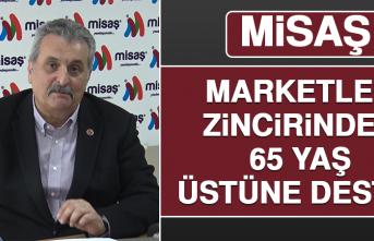 Marketler Zincirinden 65 Yaş Üstüne Destek