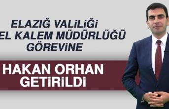 Özel Kalem Müdürlüğü Görevine Hakan Orhan Getirildi