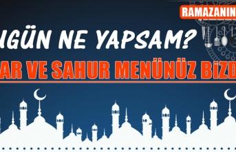 Ramazanın Dördüncü Gününde Elazığlılara Özel Yemek Menüsü