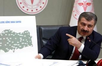 Sağlık Bakanı Koca: Türkiye'nin Vuhan'ı İstanbul oldu