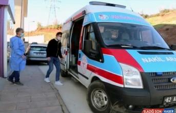 Tunceli'de koronavirüsü yenen 84 yaşındaki kadın ve 27 yaşındaki genç taburcu edildi
