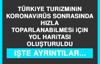 Türkiye Turizminin Hızla Toparlanabilmesi İçin Yol Haritası Oluşturuldu