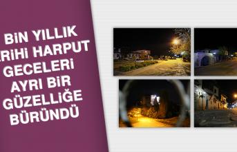 4 Bin Yıllık Tarihi Harput, Geceleri Ayrı Bir Güzelliğe Büründü