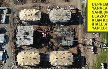 Depremin Yaralarının Sarıldığı Elazığ'da 8 Bin Konutun İhalesi Yapıldı