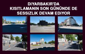Diyarbakır'da Kısıtlamanın Son Gününde De Sessizlik Devam Ediyor