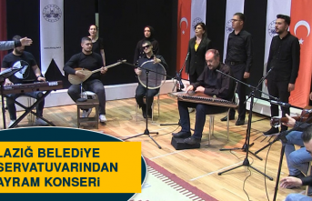 Elazığ Belediye Konservatuvarından Bayram Konseri