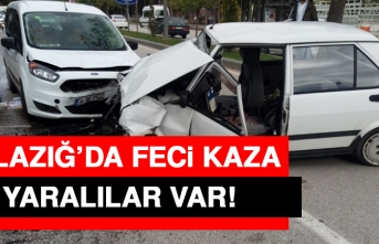 Elazığ'da Feci Trafik Kazası
