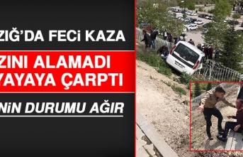 Elazığ'da Otomobil 2 Yayaya Çarptı