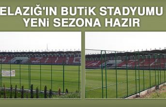 Elazığ'ın Butik Stadyumu Yeni Sezona Hazır